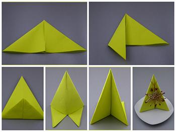Gut bekannt servietten-falten.tips - Servietten falten Anleitung mit Fotos. AC78