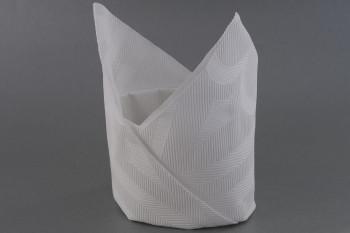 servietten falten anleitung mütze weiss servietten falten anleitung ...