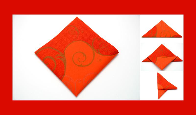 Anleitung Schmetterling Orange