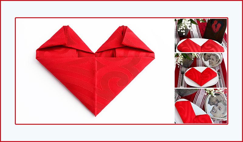 Faltanleitung Herz Valentinstag romantisch